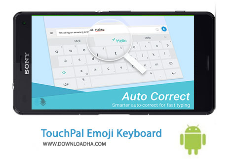 TouchPal Emoji Keyboard Cover%28Downloadha.com%29 دانلود کیبرد ایموجی TouchPal Emoji Keyboard 5.8.5.1   اندروید