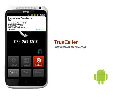 TrueCaller Cover%28Downloadha.com%29 دانلود نرم افزار مدیریت تماس TrueCaller 7.40   اندروید
