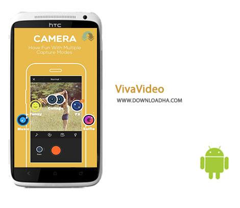 VivaVideo Cover%28Downloadha.com%29 دانلود نرم افزار ویرایش ویدئو VivaVideo 4.6.1 برای اندروید
