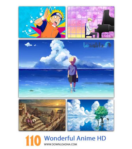 110 Wonderful Anime HD Wallpapers Cover%28Downloadha.com%29 دانلود مجموعه 110 والپیپر شگفت انگیز از انیمیشن HD