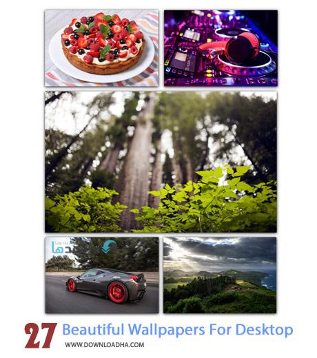 27 Beautiful Wallpapers For Desktop Cover%28Downloadha.com%29 دانلود مجموعه 27 والپیپر زیبا برای دسکتاپ