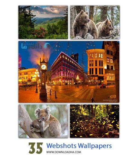 35 Webshots Wallpapers Cover%28Downloadha.com%29 دانلود مجموعه 35 والپیپر زیبا و گوناگون