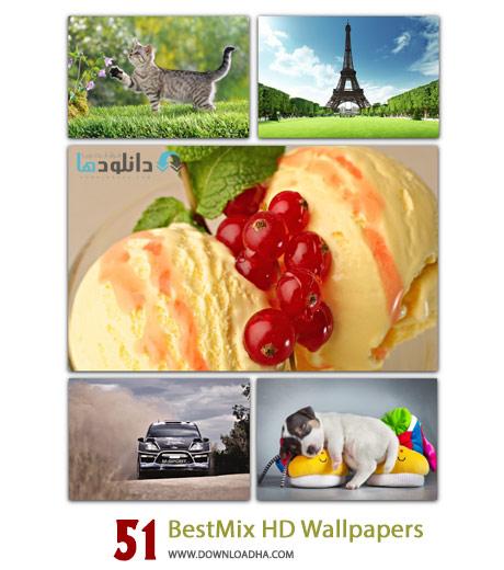 51 BestMix HD Wallpapers Cover%28Downloadha.com%29 دانلود مجموعه 51 والپیپر متنوع با کیفیت HD