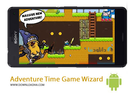 Adventure Time Game Wizard Cover%28Downloadha.com%29 دانلود بازی زیبا و ماجرایی Adventure Time Game Wizard V1.2.0 برای اندروید