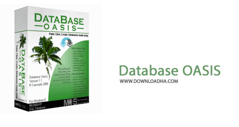 Database OASIS Cover%28Downloadha.com%29 دانلود نرم افزار طراحی پایگاه داده Database Oasis v3.1.24 Professional Edition
