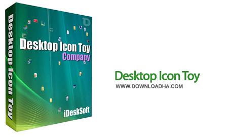 Desktop Icon Toy%20%28Downloadha.com%29 دانلود نرم افزار زیباسازی آیکون های دسکتاپ ویندوز Desktop Icon Toy x86/x64 v5.0