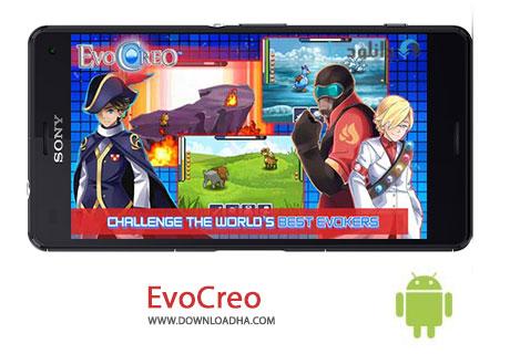 EvoCreo Cover%28Downloadha.com%29 دانلود بازی جدید و زیبای فرازمینی ها EvoCreo v1.2.5 برای اندروید