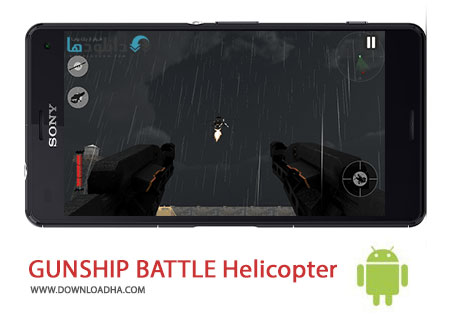 GUNSHIP BATTLE Helicopter 3D cover%28Downloadha.com%29 دانلود بازی زیبای هلیکوپتر جنگی GUNSHIP BATTLE Helicopter 3D v1.6.9 برای اندروید