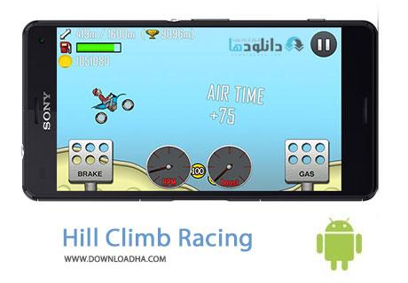 Hill Climb Racing Cover%28Downloadha.com%29 دانلود بازی مسابقه ای Hill Climb Racing 1.29.0   اندروید