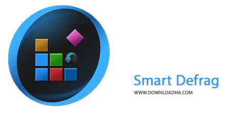 IObit Smart Defrag Cover%28Downloadha.com%29 دانلود نرم افزار یکپارچه سازی هارددیسک IObit Smart Defrag v4.2.0.815