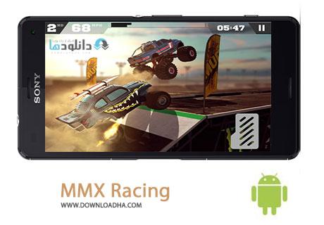 MMX Racing Cover%28Downloadha.com%29 دانلود بازی مهیج و مسابقه ای MMX Racing v1.12.8097 برای اندروید