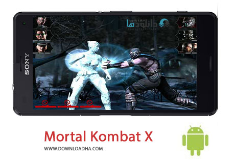 Mortal Kombat X Cover%28Downloadha.com%29 دانلود بازی اکشن و مهیج مورتال کومبات MORTAL KOMBAT X 1.8.0 برای اندروید