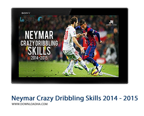 Neymar Crazy Dribbling Skills 2014   2015 Cover%28Downloadha.com%29 دانلود دریبل های شگفت انگیز نیمار در فصل 2015   2014