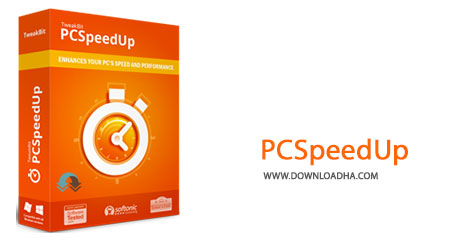 PCSpeedUp Cover%28Downloadha.com%29 دانلود نرم افزار بهینه سازی ویندوز TweakBit PCSpeedUp v1.6.9.6