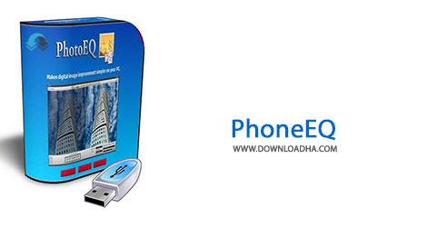 PhoneEQ Cover%28Downloadha.com%29 دانلود نرم افزار ویرایش رنگ تصاویر SoftColor PhotoEQ v1.6.0.0