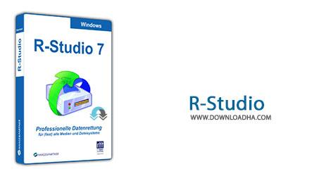 R Studio Cover%28Downloadha.com%29 دانلود نرم افزار ریکاوری قدرتمند اطلاعات R Studio 7.7 Build 159204 Network Edition + Portable