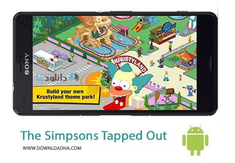 The Simpsons Tapped Out Cover%28Downloadha.com%29 دانلود بازی زندگی در شهر سیمپسون ها The Simpsons Tapped Out v4.15.0 برای اندروید