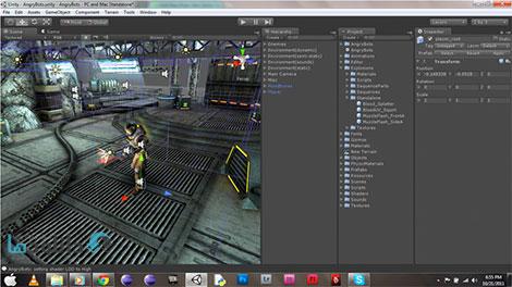 unity 3d game development Cover%28Downloadha.com%29 دانلود فیلم آموزش ساخت گیم برای مبتدیان با Unity 3D
