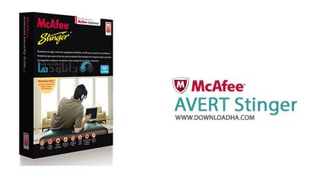 AVERT Stinger Cover %28Downloadha.com%29 پاکسازی ویندوز از ویروس با نرم افزار McAfee AVERT Stinger 12.1.0.1504 x86/x64