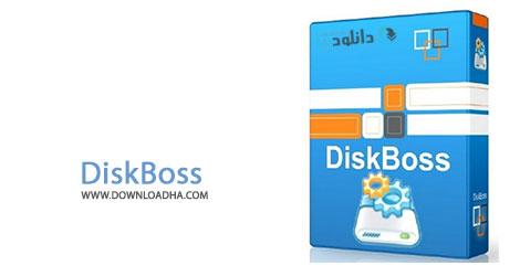DiskBoss Cover %28Downloadha.com%29 تجزیه و تحلیل و هارددیسک با نرم افزار DiskBoss Ultimate v5.6.18 x86/x64