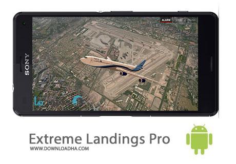 Extreme Landings Pro Cover%28Downloadha.com%29 دانلود بازی شبیه سازی هواپیما Extreme Landings Pro 2.2 برای اندروید