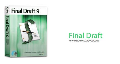 Final Draft Cover%28Downloadha.com%29 دانلود نرم افزار نمایشنامه نویسی Final Draft v9.0.6 Build 179