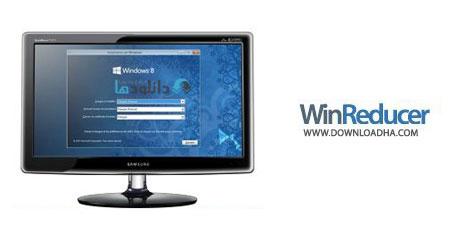 WinReducer Cover%28Downloadha.com%29 نرم افزار ساخت ویندوز 8 سفارشی WinReducer 8.0 v3.0