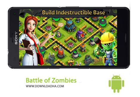 Battle of Zombies Cover(Downloadha.com) دانلود بازی اکشن نبرد زامبی ها Battle of Zombies: Clans MMO 1.0.149 برای اندروید