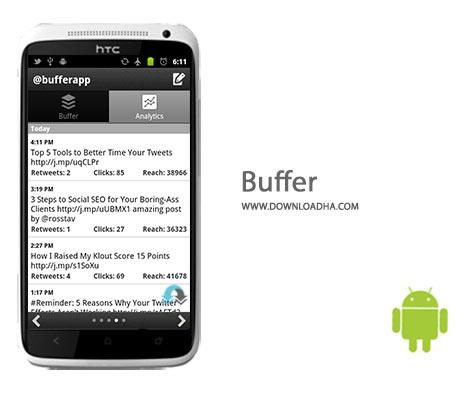 Buffer Cover%28Downloadha.com%29 دانلود برنامه ارسال پست Buffer 5.2.4 برای اندروید