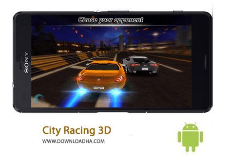 City Racing 3D Cover(Downloadha.com) دانلود بازی مهیج مسابقه در شهر City Racing 3D 2.3.069 برای اندروید