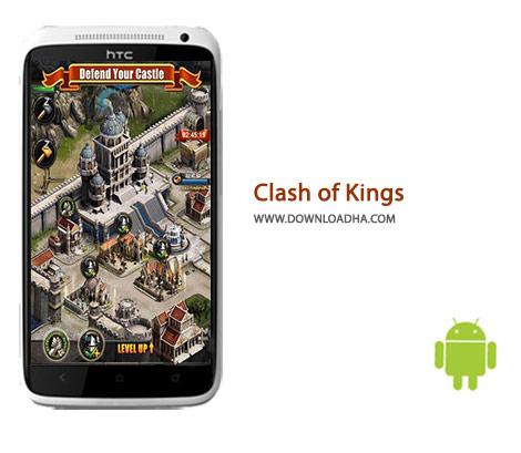 دانلود بازی استراتژیک نبرد پادشاهان Clash of Kings 2.5.0 – اندروید