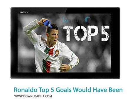 Cristiano Ronaldo Top 5 Goals That Would Have Been Cover%28Downloadha.com%29 دانلود کلیپ 5 موقعیت از رونالدو که باید گل می شدند