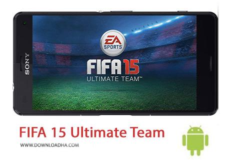 Fifa 15 Ultimate Team Cover%28Downloadha.com%29 دانلود بازی فوتبال فیفا FIFA 15 Ultimate Team 1.7.0 برای اندروید