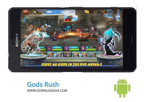 Gods Rush Cover%28Downloadha.com%29 دانلود بازی استراتژیک یورش خدایان Gods Rush 2 1.0.1 برای اندروید