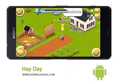 دانلود بازی مزرعه داری Hay Day 1.27.132 برای اندروید