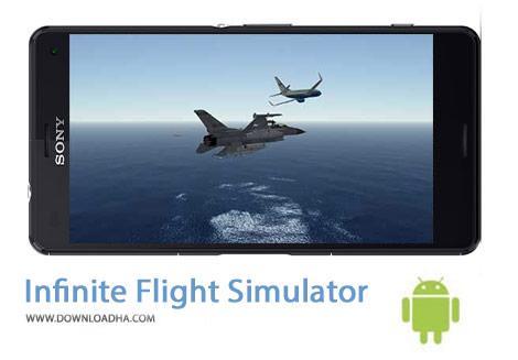 Infinite Flight Simulator Cover%28Downloadha.com%29 دانلود بازی شبیه سازی هواپیما Infinite Flight Simulator 15.10.00 برای اندروید