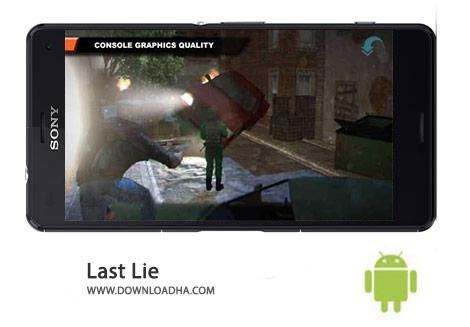 Last Lie Cover(Downloadha.com) دانلود بازی اکشن آخرین دروغ Last Lie 1.5.4.1 برای اندروید