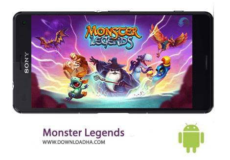Monster Legends Cover(Downloadha.com) دانلود بازی شبیه سازی افسانه های هیولا Monster Legends 3.3.2 برای اندروید