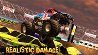Monster Truck Destruction ss1 s%28Downloadha.com%29 دانلود بازی مسابقه ای ماشین های غول پیکر Monster Truck Destruction 2.65 برای اندروید