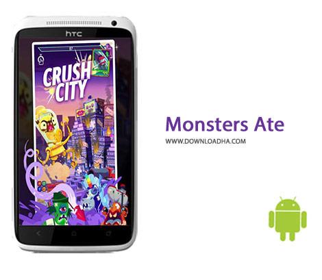 Monsters Ate Cover%28Downloadha.com%29 دانلود بازی مهیج هیولاها Monsters Ate My Metropolis v1.2.1 برای اندروید