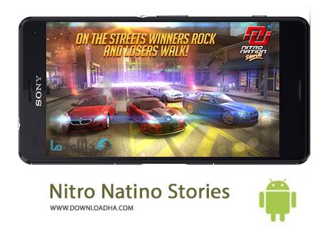 Nitro Natino Stories Cover%28Downloadha.com%29 دانلود بازی مسابقه ای Nitro Nation Stories 1.07.1 برای اندروید