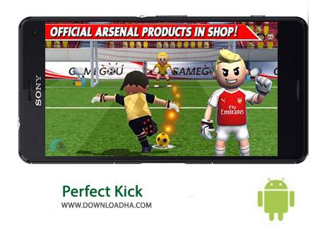 Perfect Kick Cover%28Downloadha.com%29 دانلود بازی زیبای ضربه پنالتی Perfect Kick 2.0.2   اندروید