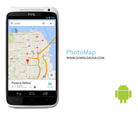 PhotoMap Cover%28Downloadha.com%29 دانلود نرم افزار تهیه عکس های ماهواره ای PhotoMap 4.0.1 برای اندروید