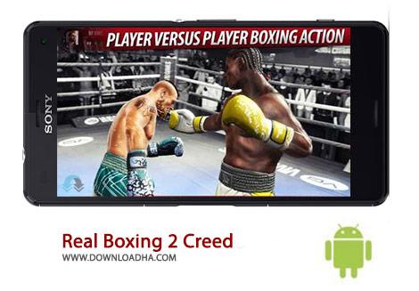 Real Boxing 2 Creed Cover%28Downloadha.com%29 دانلود بازی مهیج مسابقات بوکس Real Boxing 2 CREED 1.0.0 برای اندروید