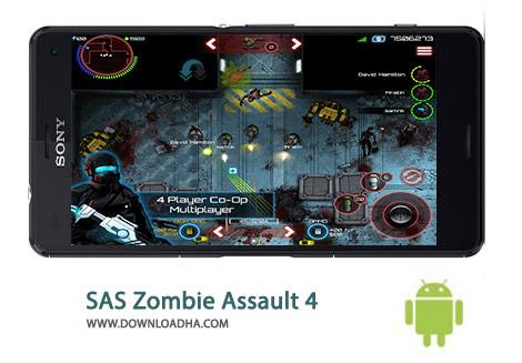 SAS Zombie Assault 4 Cover%28Downloadha.com%29 دانلود بازی اکشن و مهیج حمله زامبی SAS Zombie Assault 4 1.6.0 برای اندروید