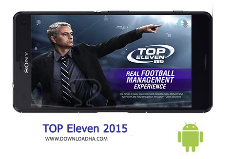 TOP Eleven Cover%28Downloadha.com%29 دانلود بازی آنلاین و اعتیادآور مربی گری فوتبال Top Eleven 2015 3.2 برای اندروید