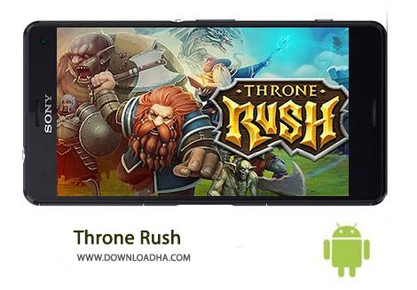 Throne Rush Cover%28Downloadha.com%29 دانلود بازی استراتژیک یورش تاج و تخت Throne Rush 4.6.1   اندروید