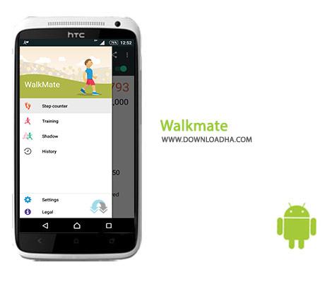 Walkmate Cover%28Downloadha.com%29 دانلود نرم افزار سلامتی گام شمار Walkmate 10.01.03 برای اندروید