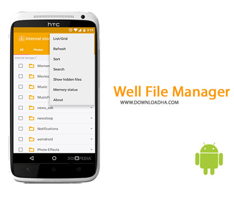 Well File Manager Cover%28Downloadha.com%29 دانلود فایل منیجر قدرتمند Well File Manager 5.1040.04 برای اندروید