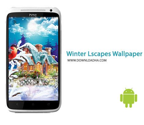 Winter Landscapes Wallpaper Cover%28Downloadha.com%29 دانلود مجموعه والپیپر با موضوع زمستان Winter Landscapes Wallpaper 1.0.1 برای اندروید